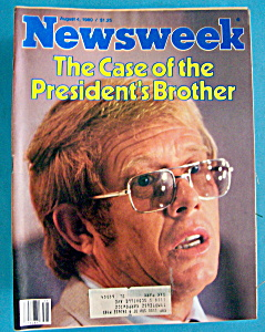 Newsweek Magazine - August 4, 1980 - Billy Carter