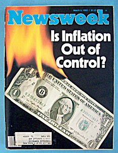 Newsweek Magazine - March 3, 1980 - Inflation