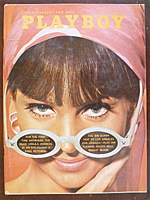 Playboy Magazine-June 1965-Hedy Scott (Image1)