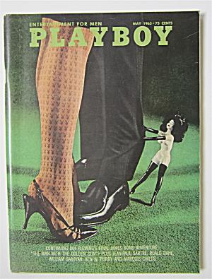 Playboy Magazine-May 1965-Maria McBane (Image1)