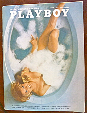 Playboy Magazine-april 1971-chris Cranston
