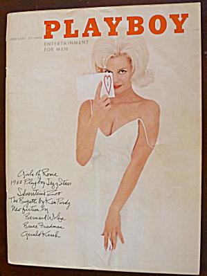 Playboy Magazine-february 1958-jayne Mansfield (Nude)