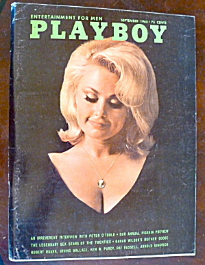 Playboy Magazine-september 1965-patti Reynolds