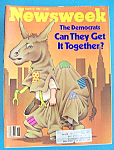 Newsweek Magazine - August 18, 1980 - The Democrats