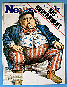 Newsweek Magazine - December 15, 1975 - Big Government