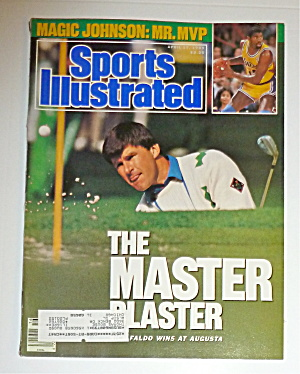 Sports Illustrated Magazine-april 17, 1989-nick Faldo