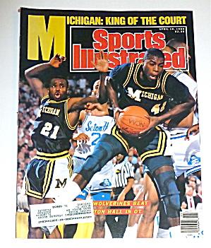 Sports Illustrated Magazine-April 10, 1989-Michigan  (Image1)