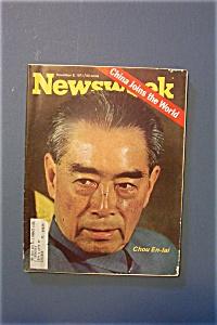 Newsweek Magazine - November 8, 1971 - Chou En - Lai (Image1)