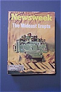 Newsweek Magazine - October 15, 1973 - Mideast Erupts (Image1)