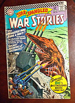Star Spangled War Stories #127 June 1966 Monster & Navy