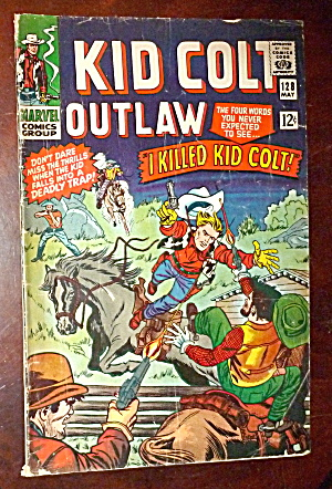 Kid Colt Outlaw Comics #128 I Killed Kid Colt  (Image1)