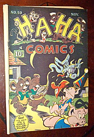 Ha Ha Comics #59 November 1948 It's A Komik Killer