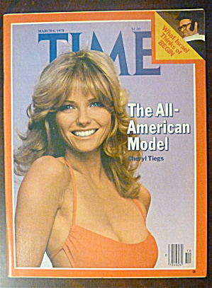 Time Magazine-march 6, 1978-cheryl Tiegs