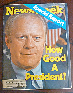 Newsweek Magazine-October 18, 1976-Gerald Ford (Image1)