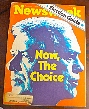 Newsweek Magazine-november 1, 1976-carter/ford