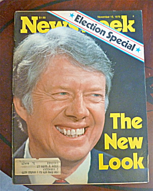 Newsweek Magazine-november 15, 1976-jimmy Carter