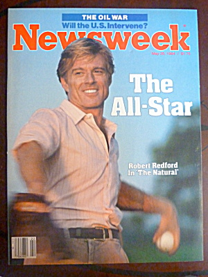 Newsweek Magazine-May 28, 1984-Robert Redford (Image1)
