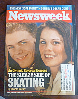 Newsweek Magazine-february 25, 2002-pelletier/sale