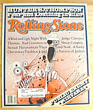 Rolling Stone-january 23, 1992-nirvana/public Enemy