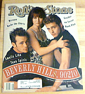 Rolling Stone-february 20, 1992-beverly Hills 90210