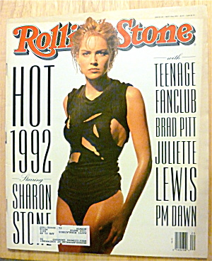 Rolling Stone-May 14, 1992-Sharon Stone  (Image1)