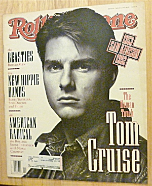 Rolling Stone-may 28, 1992-tom Cruise