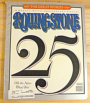 Rolling Stone-June 11, 1992-25th Anniversary Issue (Image1)