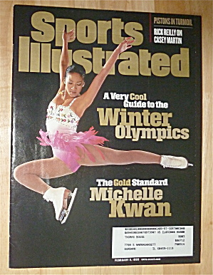Sports Illustrated-February 9, 1998-Michelle Kwan (Image1)
