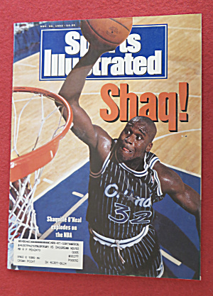 Sports Illustrated-November 30, 1992-Shaquille O' Neal (Image1)