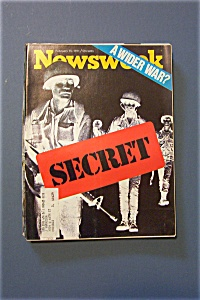 Newsweek Magazine - February 15, 1971 - A Wider War?