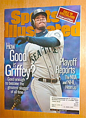 Sports Illustrated Magazine-May 17, 1999-Ken Griffey Jr (Image1)