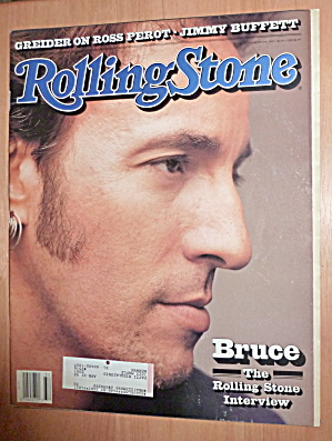 Rolling Stone-august 6, 1992-bruce Springsteen