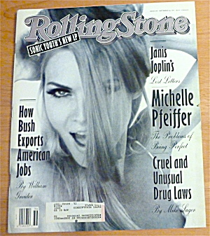 Rolling Stone-september 3, 1992-michelle Pfeiffer