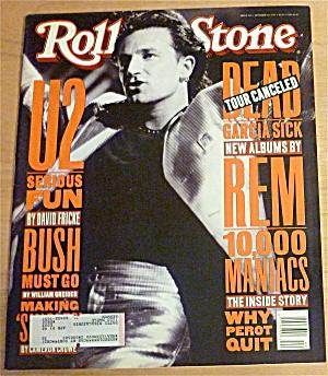 Rolling Stone-October 1, 1992-U2: Serious Fun (Image1)