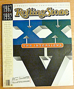 Rolling Stone-October 15, 1992-1967-1992 Interviews (Image1)