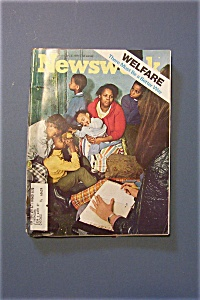 Newsweek Magazine - February 8, 1971 - Welfare