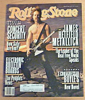 Rolling Stone-april 15, 1993-metallica (James Hetfield)
