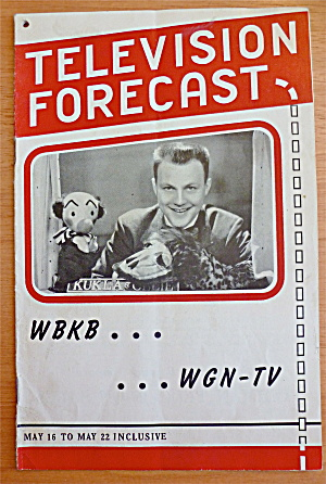 1948 Chicago Television Forecast Issue #2 Kukla & Ollie (Image1)