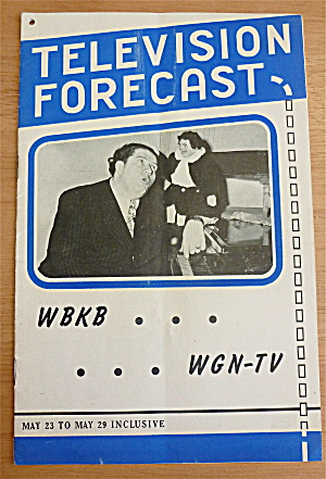 1948 Chicago Television Forecast Issue #3 Dick Baker