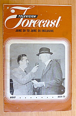 1948 Chicago Television Forecast Vol.1-#6 Connie Mack