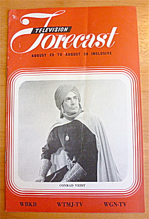 1948 Chicago Television Forecast Vol.1-#16 Conrad Veidt