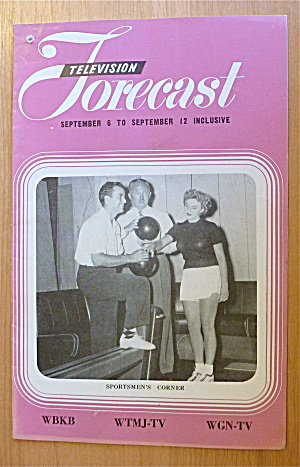 1948 Chicago Television Forecast Vol.1-#18 Bowling