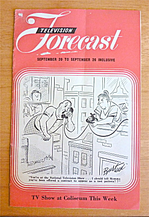 1948 Chicago Television Forecast Vol.1-#20 Test Pattern