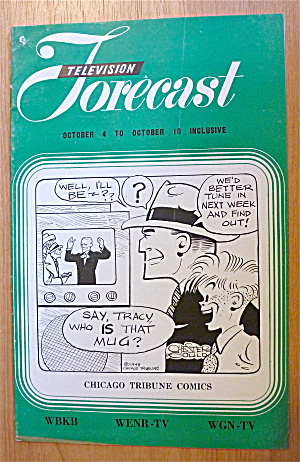 1948 Chicago Television Forecast Vol.1-#22 Dick Tracy