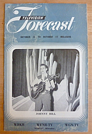 1948 Chicago Television Forecast Vol.1-#23 Johnny Hill