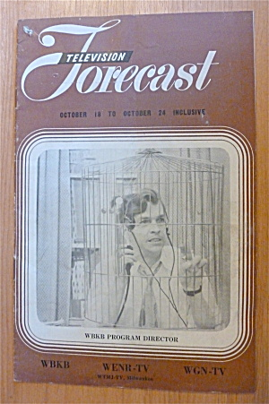 1948 Chicago Television Forecast Vol.1-#24 Ed Roden