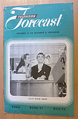 1948 Chicago Television Forecast Vol.1-#25 Alan Dale