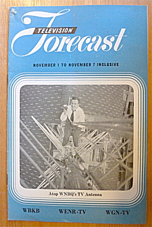 1948 Chicago Television Forecast Vol.1-#26 Wnbq Antenna