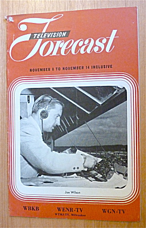 1948 Chicago Television Forecast Vol.1-#27 Joe Wilson