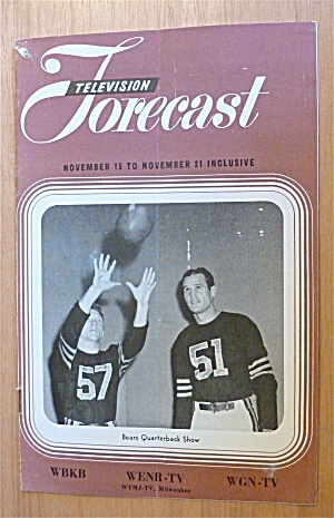 1948 Chicago Television Forecast Vol.1-#28 Bears  (Image1)